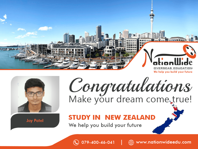 Congratulations & Bon Voyage for Overseas Education in New Zealand