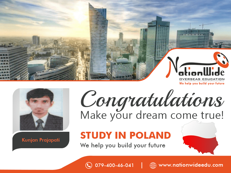Congratulations for getting Student Visa for Overseas Study in Poland Required fields are marked *